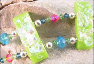 Lime Wave Bracelet