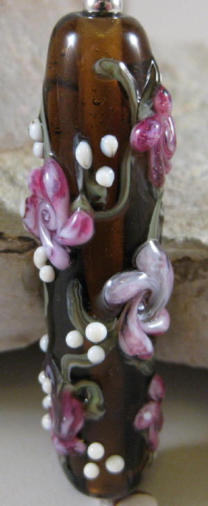 Rose Focal Bead